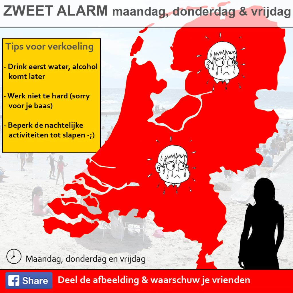 Zweet alarm